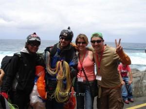 параглайдинг на Тенерифе - фото Родригес