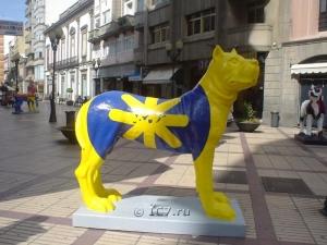 Монументы на Гран Канарии, посвященные собакам